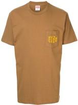 Supreme slogan pocket T-shirt