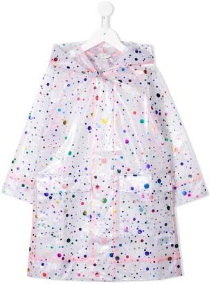 Stella Mccartney Kids Dotted Raincoat