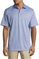 Peter Millar Crown Hickory Striped Polo Shirt