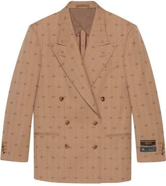 Gucci Retro GG blazer