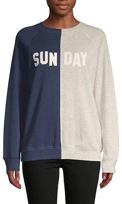 South Parade Colorblock Cotton-Blend Sweatshirt
