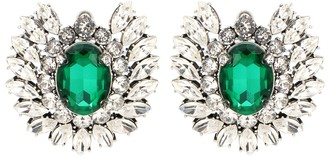 Balenciaga Crystal embellished earrings