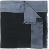 Faliero Sarti frayed scarf - men - Silk/Polyester/Viscose - One Size