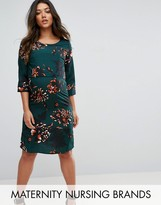 Mama Licious Mama.licious Mamalicious Floral Shift Dress