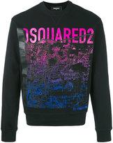 DSQUARED2 mountain print sweatshirt - men - Cotton - XS