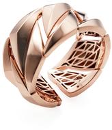 Roberto Coin Rose Gold-Plated Silver 5 Thirteen Bangle Bracelet