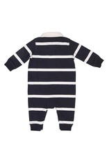 Ralph Lauren Striped Cotton Jersey Romper Set