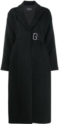 Andrea Ya'aqov Buckled Cashmere-Blend Coat