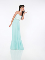 Mon Cheri La Gala Prom by Mon Cheri - 116574 Long Dress In Mint