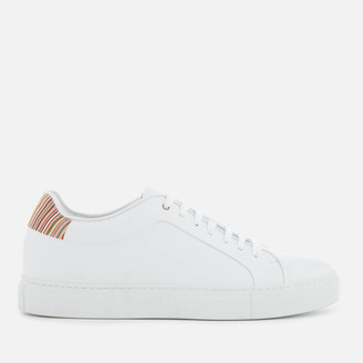 Paul Smith Men's Basso Leather Cupsole Trainers - White