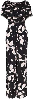 By Ti Mo byTiMo leaf print jumpsuit