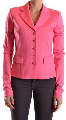 Pinko Women's Pink Viscose Blazer.