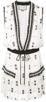 Alexis Isma bead-embellished dress