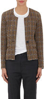 Etoile Isabel Marant Women's Checked Wool-Blend Jacket-BROWN