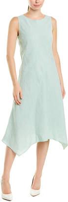 Lafayette 148 New York Kylan Linen A-Line Dress