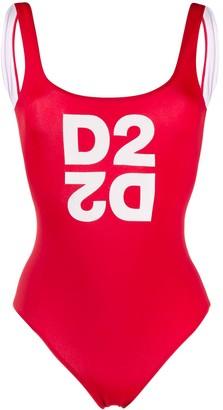 DSQUARED2 D2 print swimsuit