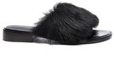 Tibi Kellen Lamb Shearling Sandals