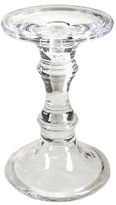 """A&B Home Decorative Clear Single Candle Holder - 8"""""""