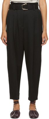 3.1 Phillip Lim Black Wool Utility Belt Trousers