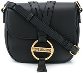Thumbnail for your product : Love Moschino Round Buckle Crossbody Bag