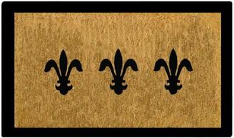 Doormat Designs Fleur De Lys Doormat