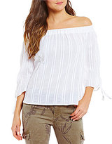 KUT from the Kloth Alma Off-The-Shoulder Envelope Back-Hem Top