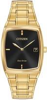 Citizen Men's Eco-Drive Tonneau Bracelet Watch