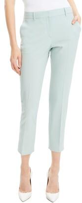 Theory Treeca 2 Good Wool Crop Suit Pants