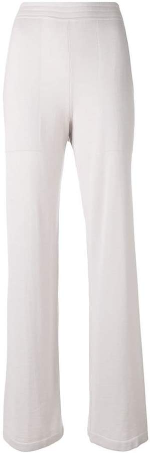 Calvin Klein knitted flared trousers