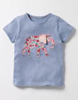 Boden Jungle Patchwork T-Shirt