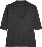 James Perse Cashmere Top - Charcoal