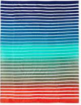 Dohler Pattern Stripes Terry Velour Oversized Beach Towel