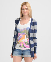 Forever 21 Heritage 1981 Wide Stripe Cardigan