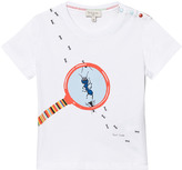 Paul Smith White Ants Print Tee