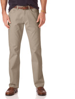 Chaps Men's Classic-Fit 5-Pocket Twill Flat-Front Pants