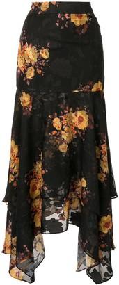We Are Kindred high-waisted asymmetric skirt