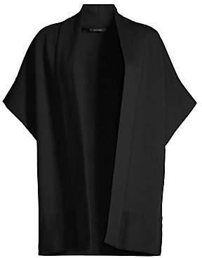 Josie Natori Women's Ponte Kimono-Sleeve Topper