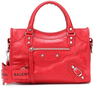 Balenciaga Classic City Mini leather tote