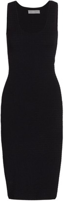 Proenza Schouler White Label Quilted Knit Sleeveless Dress