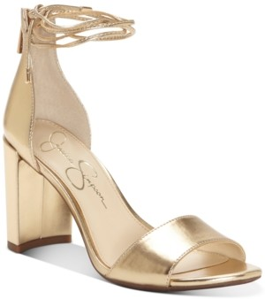 Jessica Simpson Nehah Ankle-Tie Dress Sandals Women's Shoes