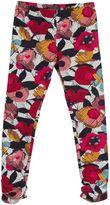 Catimini Girls Floral Print Leggings