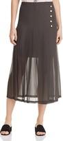 The Kooples Pleated Midi Skirt - 100% Exclusive