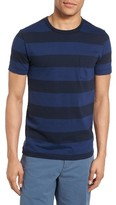 French Connection Men's Varsity View Stripe Slim T-Shirt