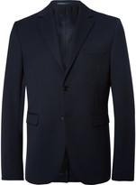 Acne Studios Blue Kiruna Slim-Fit Piqué Blazer