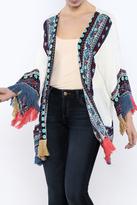 Umgee USA Open Front Kimono