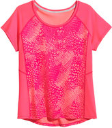 H&M H&M+ Sports Top - Coral/patterned - Ladies