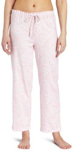 Nautica Sleepwear Women's Paisley Knit Ankle Pant