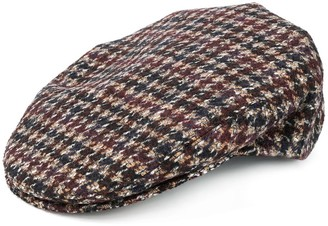 Eleventy Checkered Knitted Hat