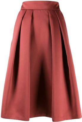 Giorgio Armani Pleated Midi Skirt