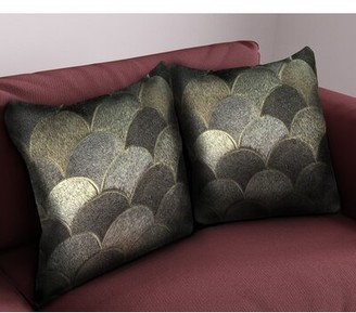 Rosdorf Park Reede Square Leather Pillow Cover